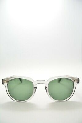 aa28d6eaabe5 New Moscot Lemtosh sunglasses in crystal color medium 46mm with green lenses