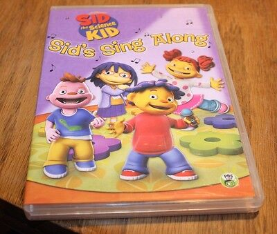 DVD Sid The Science Kid Sid's Sing Along