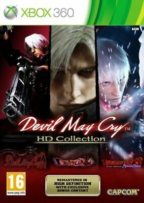Xbox 360 - Devil May Cry Trilogy HD Collection (3 Games) **New & Sealed**