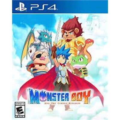 Monster Boy And The Cursed Kingdom (#) /ps4