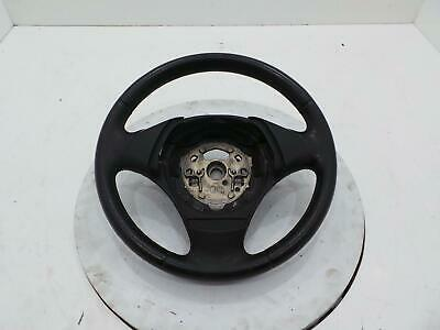 BMW 3 Series E90 2005 - 2012 Black Leather Steering Wheel