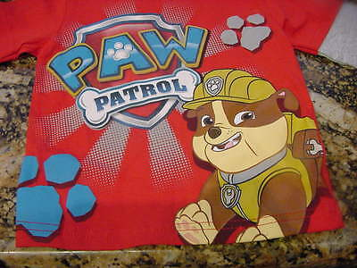 Paw Patrol  Toddler Toddler Long Sleeve T-Shirt Rubble 12M NEW WITHOUT TAGS