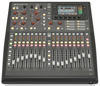 Behringer X32 PRODUCER 40-Input, 25-Bus Rack-Mountable Digital Mixing Console