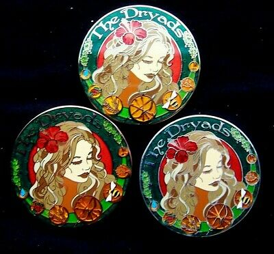 """Christian Mackey Designed """"The Dryad"""" 3 coin set Less than $15 each"""
