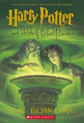 Harry Potter and the Half-Blood Prince by J K Rowling 9780439785969