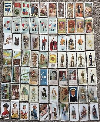Job Lot of 70 Vintage Player's John Player & Sons Cigarette Cards Assorted