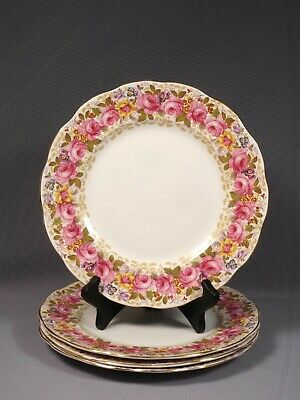 Royal Albert Serena  Large Dinner Plate Bone China England Gold
