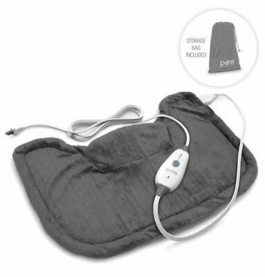 PureRelief Neck and Shoulder Heating Pad 14 x 22 + Storage Bag Free Shipping