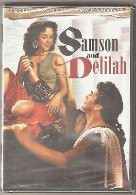 Samson and Delilah DVD Classic Hedy Lamarr Victor Mature BRAND NEW