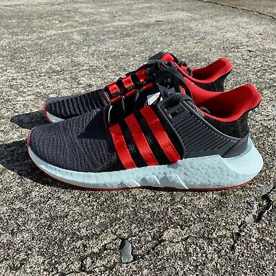 1b3350df68b ADIDAS EQT SUPPORT 93/17 'Yuanxiao' Men's Size 8.5 Black Red Bred DB2571