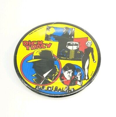 NAPKINS AND  8-PARTY HATS  PARTY SUPPLIES DICK TRACY    PARTY SET OF  8-PLATES