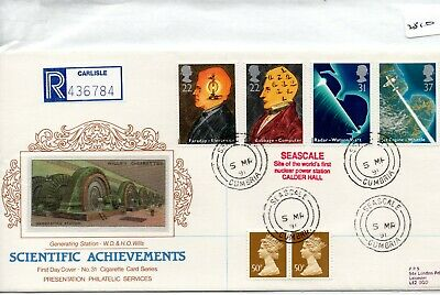 GB - FIRST DAY COVER - FDC - (2510) SPECIALS -1991 Scientific - pmk CDS Seascale