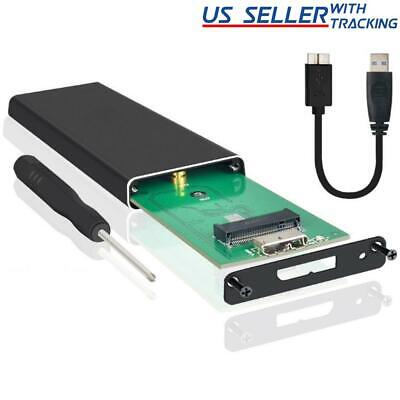 M.2 NGFF SATA SSD to USB 3.0 Portable External Drive Enclosure Case with UASP
