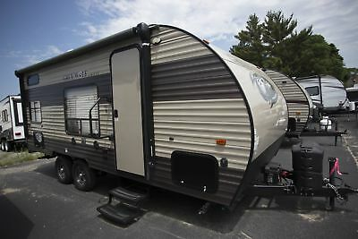 Used RV 2017 Forest River Grey Wolf 17BHSE SPECIAL EDITION