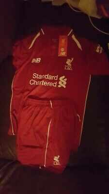 Liverpool FC HOME Kids Youth Shirt 2018/19 NEW W TAGS Age 8-9