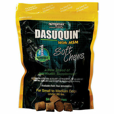 Dasuquin® with MSM Soft Chews for Small to Medium Dogs up to 60 lb 84 Soft Chews