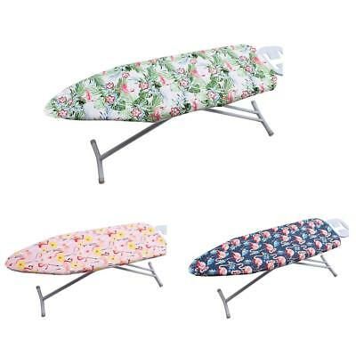 Ironing Board Heat Resistant Space Saving Ironing Board Ironing Table Cover Set