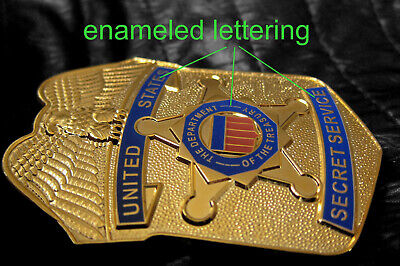 w1/ Historisches police badge + United States Secret Service