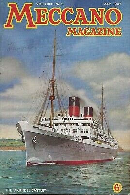 Meccano Magazine  May 1947  - Vol Xxxii. No. 5  -  Rare