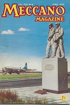 Meccano Magazine  June 1959   -  Vol Xliv. No. 6  -  Rare