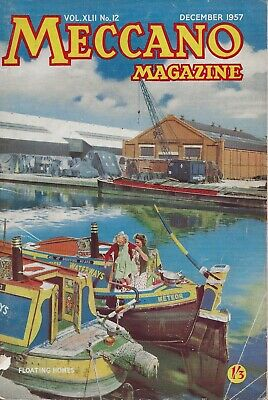 Meccano Magazine  December 1957  - Vol Xlii. No. 12  -  Rare