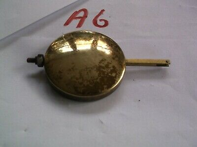 A PENDULUM FROM AN OLD  MANTEL CLOCK 98g REF A 6