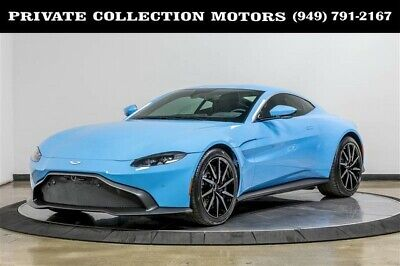 2019 Aston Martin Vantage  2019 Aston Martin Vantage Rare Color 1 Owner Only 5k Miles Suede Interior