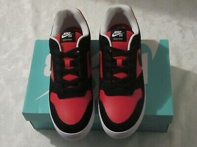 reputable site 93cb9 2473b Nike SB Delta Force Vulc Black Red 942237 006 Men s US Size 11 Sneakers