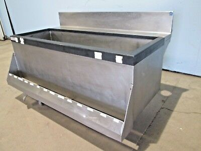 """""""Perlick Tsd48Ic8"""" Commercial (Nsf) 8 Circuits Under Counter Cold Plate Ice Bin"""