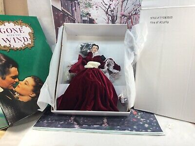 Scarlett O'hara Vivien Leigh Tonner Fire Of Atlanta Doll Gone With The Wind Nrfb