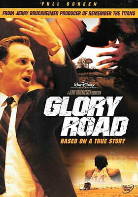 Glory Road (DVD, 2006, Full Frame) - Disc Only