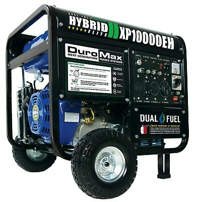 "Local Pickup: Duromax Xp10000Eh Portable Hybrid Generator 10000 Watt ""dual Fuel"""