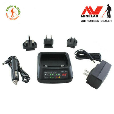 Minelab ctx 3030 and gpz 7000 charging dock for battery and wireless module