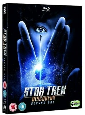 Star Trek: Discovery - Season 1 blu ray Brand new and sealed. Same day shipping
