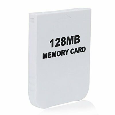 New 128MB Memory Card for the Nintendo Gamecube and Wii 128 MB Free Shipping