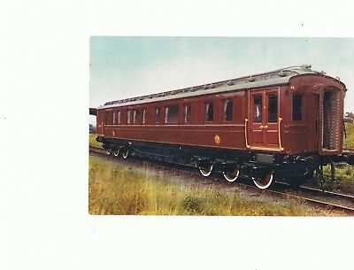 Picture Postcard--LONDON & NORTH WESTERN RAILWAY, ROYAL SALOON unposted