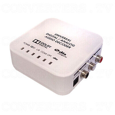 Universal DAC Audio Converter with Dolby and DTS Decoder (3 Year Warranty)