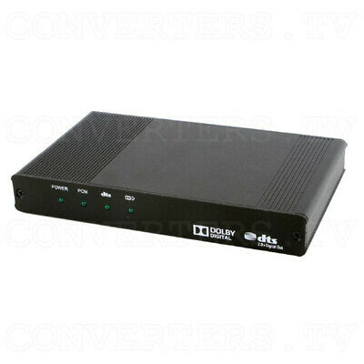 HDMI Audio with Dolby Digital & DTS 2.0+Digital Out Decoder (3 Years Warranty)