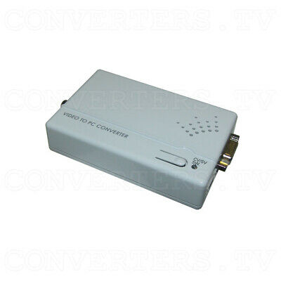 Composite Video/S - Video to PC Converter (3 Year Warranty)
