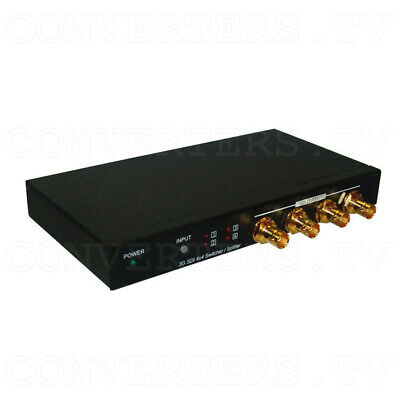 3G-SDI 4 In 4 Out Switcher and Splitter (3 Year Warranty)