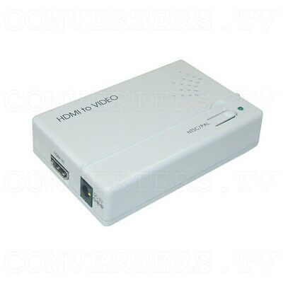 HDMI to Video Scan Converter (3 Year Warranty)  CV-400H
