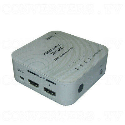 HDMI v1.4 4 In 1 Out Switch with Coaxial Audio Out (3 Year Warranty)