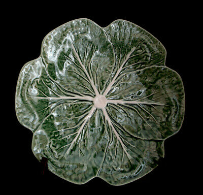 Cabbage Green by Bordallo Pinheiro DINNER PLATE 10 3/8""