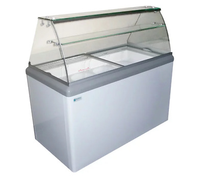 NEW 8 Flavor Ice Cream Dipping Cabinet Freezer Excellence HBD-8HC #9673 Case NSF