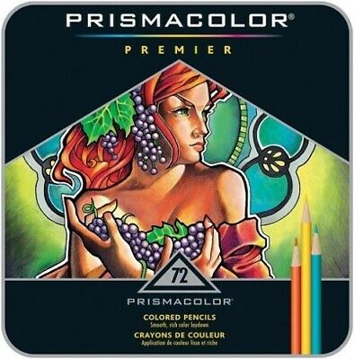 Prismacolor Premier Colored Pencils, Soft Core, 72-Count *NEW*