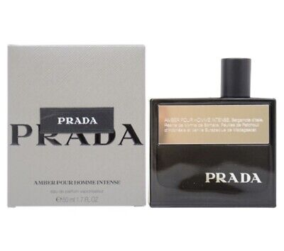 Ml Eau 7 Him Homme Prada Oz Parfum For De Pour Intense Edp 50 Amber Men 1 5j4RLA