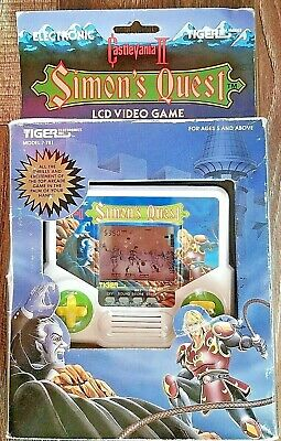 1988Castlevania II Simons Quest Electroinic Handheld LCD Video Game by Tiger NIB