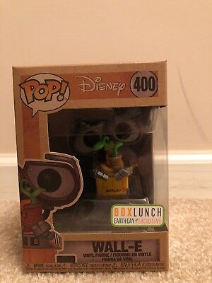 Wall-E Funko Pop #400 LunchBox Earth Day Exclusive