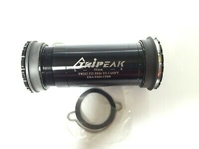Tripeak Steel Bearing bottom bracket fits BB86 frame for UBB30 Crank