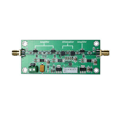 Radio Frequency RF Adjustable Gain Amplifier Module 50MHz-2GHz Bandwidth 0~60dB